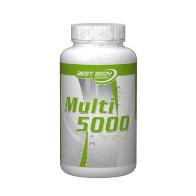 Best Body Nutrition Multivitamin 5000 - 100 Kapseln Dose