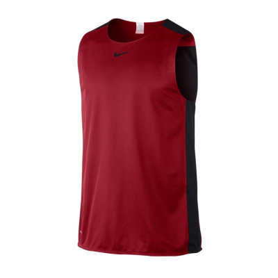 Nike LEAGUE REVERSIBLE TANK Basketballshirt Herren rot-schwarz