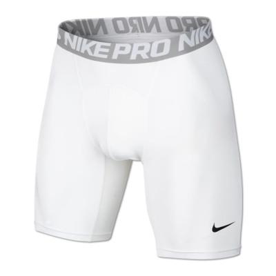 Nike PRO COOL COMPRESSION 6 INCH SHORT Kompressionshose Herren weiß
