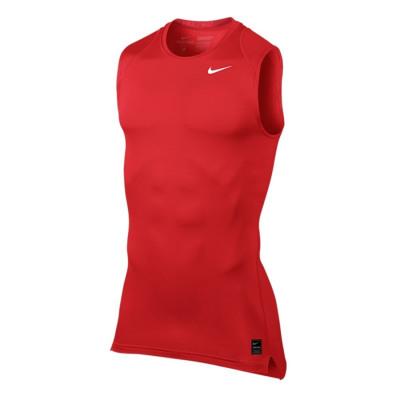 Nike PRO COMPRESSION 6 SL Kompressionsshirt Herren rot