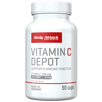 Body Attack Vitamin C Depot - 90 Caps