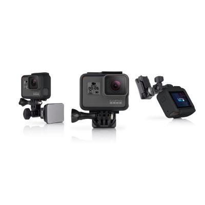 GoPro Helmhalterung (vordere + seitliche Befestigung) - Helmkameras