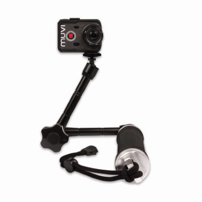 Veho Muvi 3 Way Monopod with Extended Arm - Helmkameras