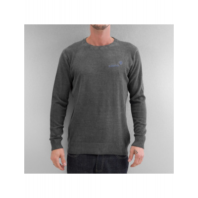Clang Männer Pullover Oilwashed Knitted
