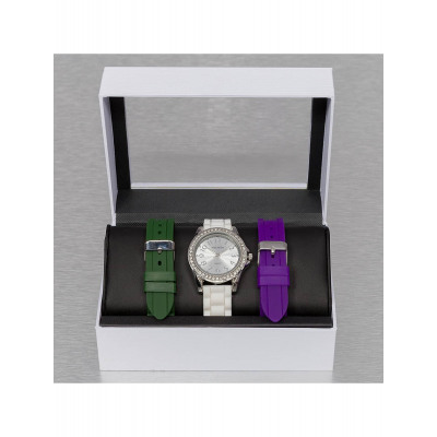 Paris Jewelry Frauen Uhr Set