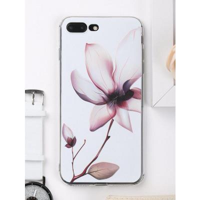 Handytasche mit Blumenblatt-Muster fr Iphone