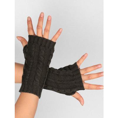 Aushhlen verzierte gestrickte herausgestellte Finger-Handschuhe