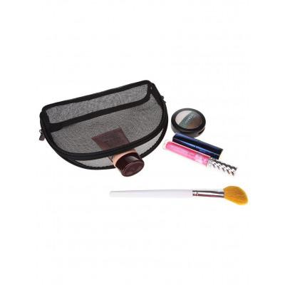 Muschelfrmige Gaze Make-up Tasche