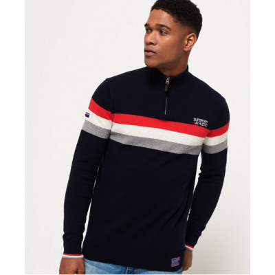 Superdry Athletic Tour Henley Pullover