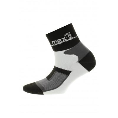max-Q.com Active Running Socks Laufsocken - Schwarz
