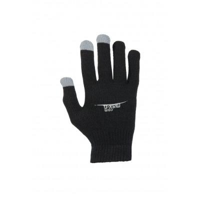 max-Q.com Running Gloves Laufhandschuhe - Schwarz