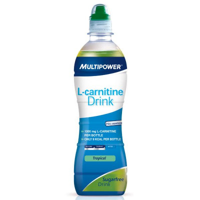 L-Carnitine Drink - 500ml - Tropical