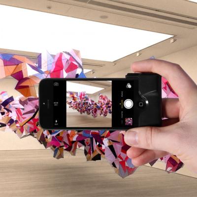 Kamera-Auslöser für iPhone 5