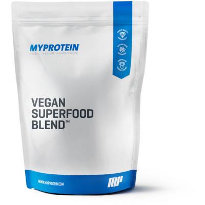 Vegan Superfood Blend - 1kg - Beutel - Blaubeere & Himbeere Stevia