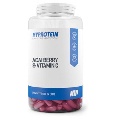 Acai Beeren plus Vitamin C Kapsel - 30Kapseln