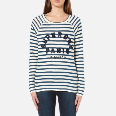 Superdry Women's Applique Raglan Long Sleeve T-Shirt