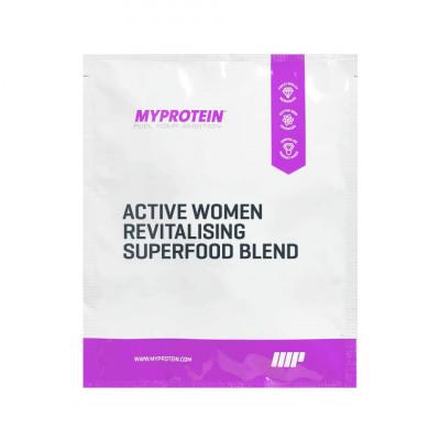 Active Women revitalisierende Supermischung (Probe) - 25g - Beutel - Vanilla & Matcha
