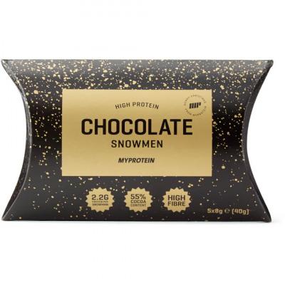 Protein Chocolate Snowmen