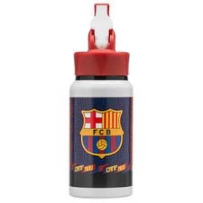 Barcelona Trinkflasche Aluminium - Blau/Rot