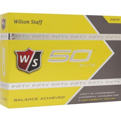 Wilson Fifty Elite Golfbälle, orange