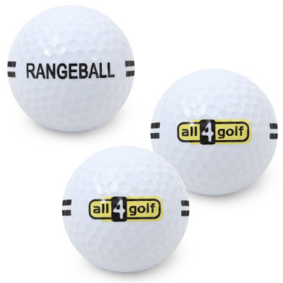 Mikado Rangeball mit all4golf-Logo