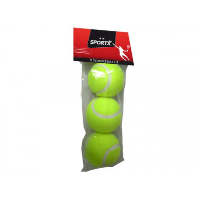Sportx Tennisbälle 3St Pbh***