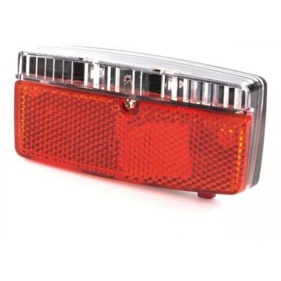 Ikzi Bike Light - LED - 2 LED - Reflector + Sensor - 8 cm
