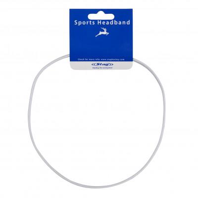 STAG Team - Stirnband Breit - Weiß