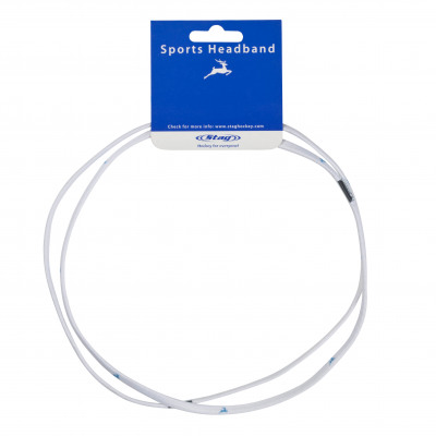 STAG Sport Stirnband Small 2x - Weiss