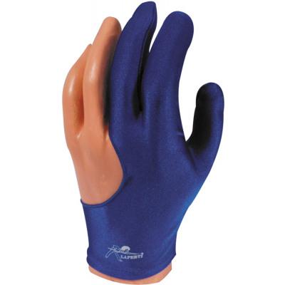Laperti Billardhandschuh - Größe M Blau
