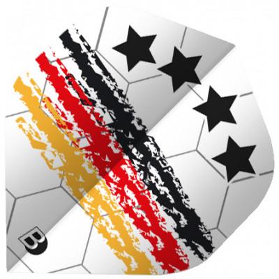 BULL'S Motex Flüge Slim Form - Deutschland Fussball