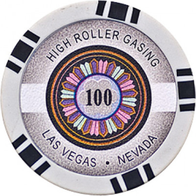 High-Roller Pl Chips Rund 100