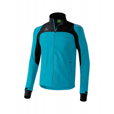 Erima Rennen Line Running Jacket Men - petrol / schwarz