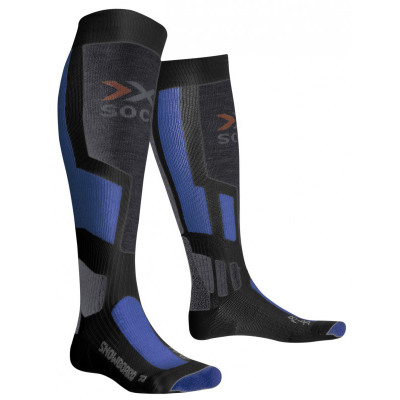 X -Socks Snowboard Men - Anthrazit / Zu