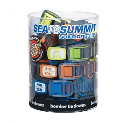 sea to summit Bomber Tie Down 4m Schnallgurt blau,blue