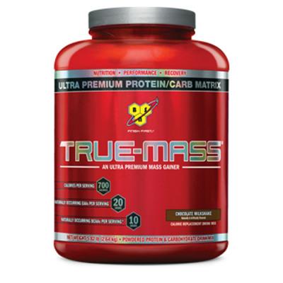 BSN True-Mass Weight Gainer - 2640g Dose Strawberry