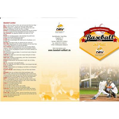 DBV-Regelflyer - Baseball