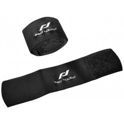 Pro Touch Schienbeinschützer und Stutzenhalter (Größe : 1, Farbe: 001 weiß)